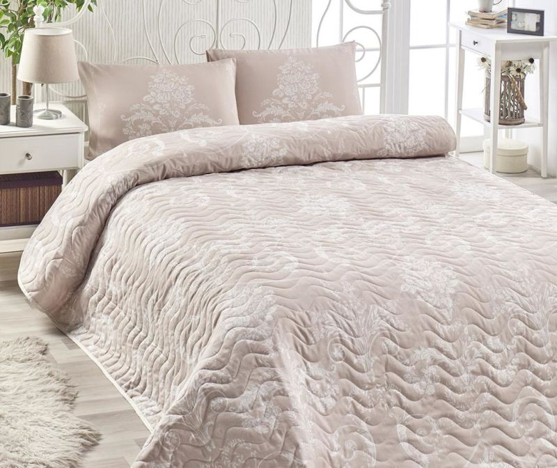 Kralice Mink Kétszemélyes steppelt ágytakaró garnitúra