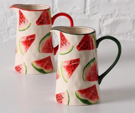 Set 2 carafe Melony 1 L