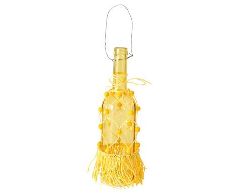 Viseča svetlobna dekoracija Hula Yellow