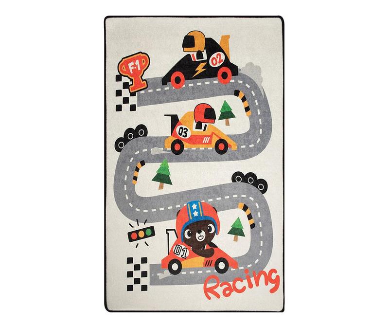 Koberec na hraní Race 100x160 cm