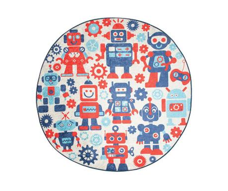 Preproga Robot Blue 140 cm