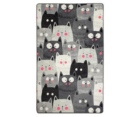 Preproga Cats Grey