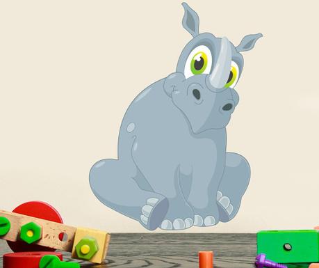 Samolepka Happy Hippo