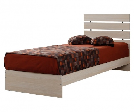 Rama łóżka Fuga Oak 120x200 Cm Vivrehomepl