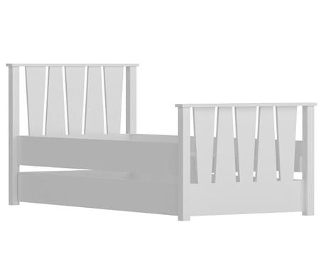 Výsuvný posteľný rám Nobe White