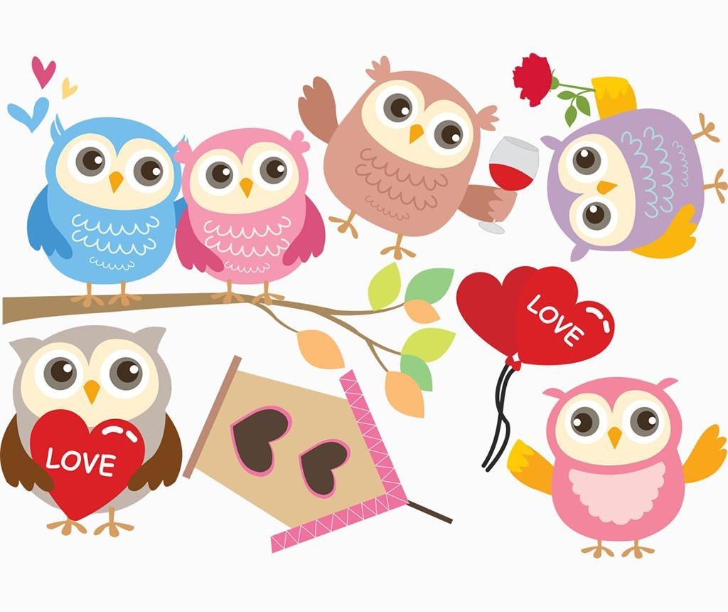 Happy Owls Matrica