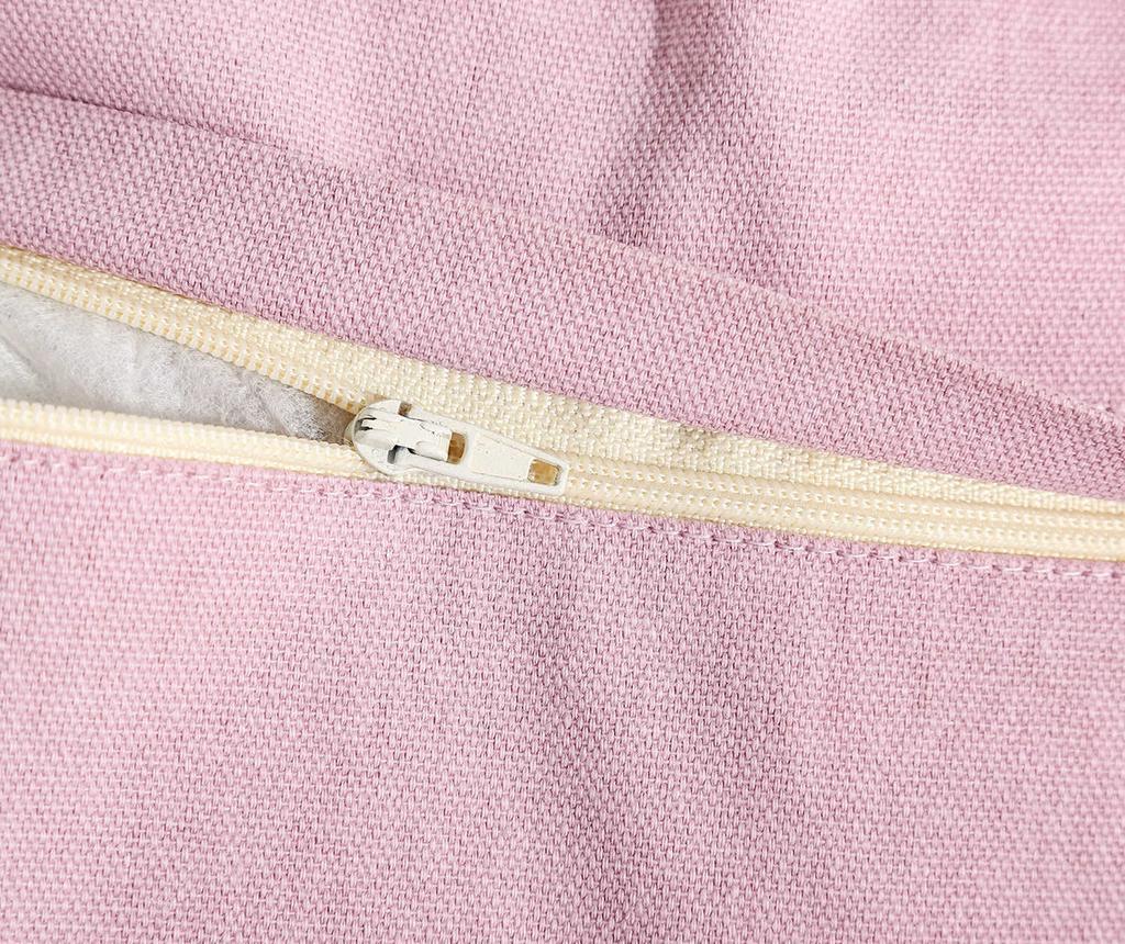 Okrasna blazina Anette Light Pink 30x50 cm