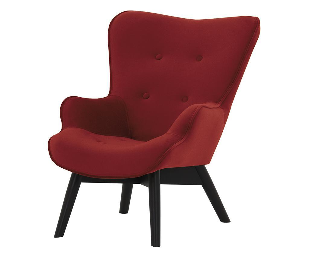 Otroški fotelj Ducon Mini Dark Red