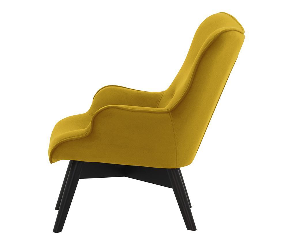 Otroški fotelj Ducon Mini Yellow