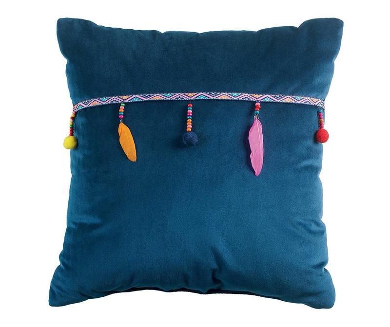 Διακοσμητικό μαξιλάρι Plumys Indigo 40x40 cm