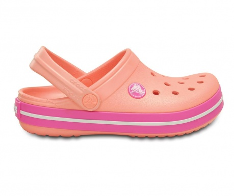 Saboti copii Crocs Clog Orange 29-31