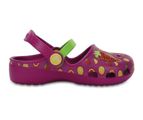 Saboti copii Crocs Vibrant Violet 27-28