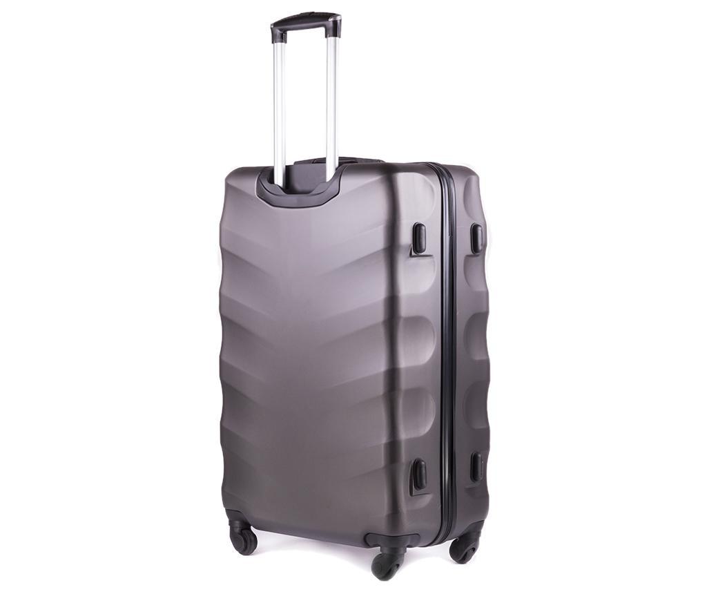 Putna torba s kotačićima Wings Dark Grey 36 L