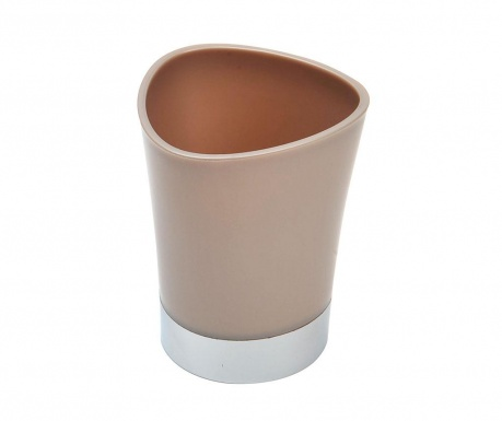 Pohár do koupelny Basic Taupe 250 ml