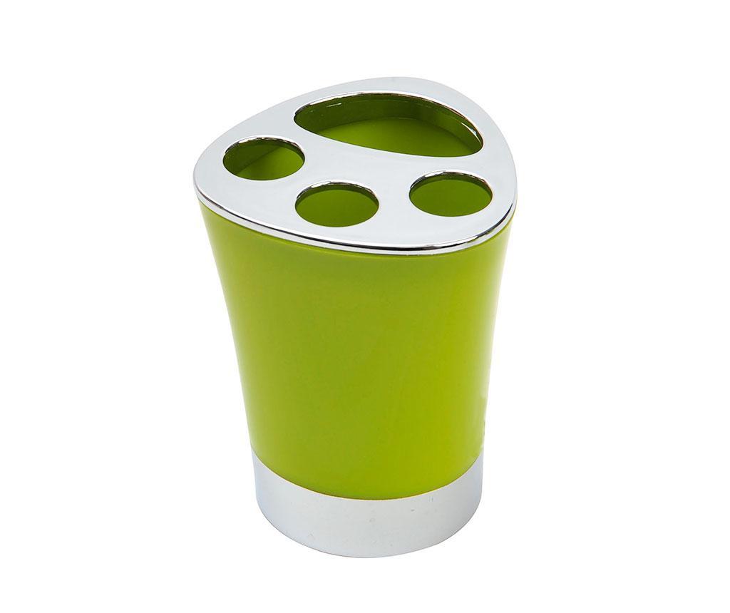 Suport pentru periute de dinti Basic Green