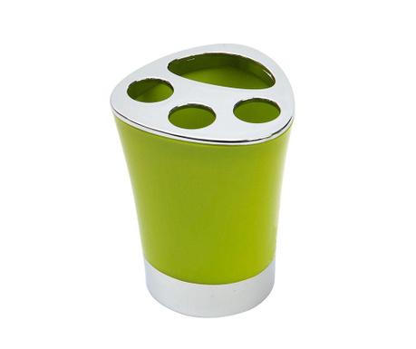 Stojan na zubní kartáčky Basic Green