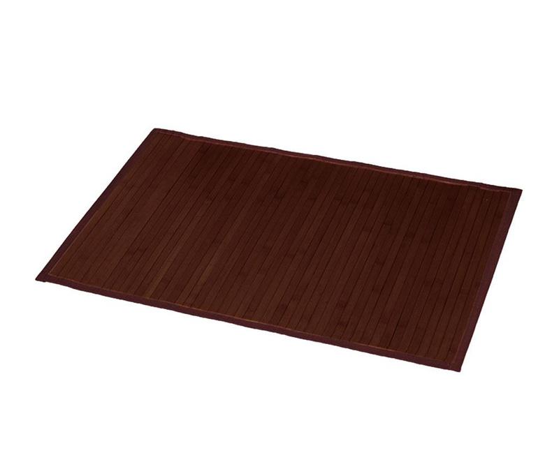 Covoras de baie Lines Brown 50x80 cm