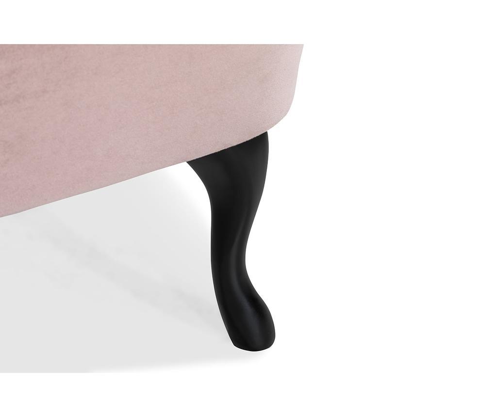 Sedačka diYana Soft Light Pink 3H