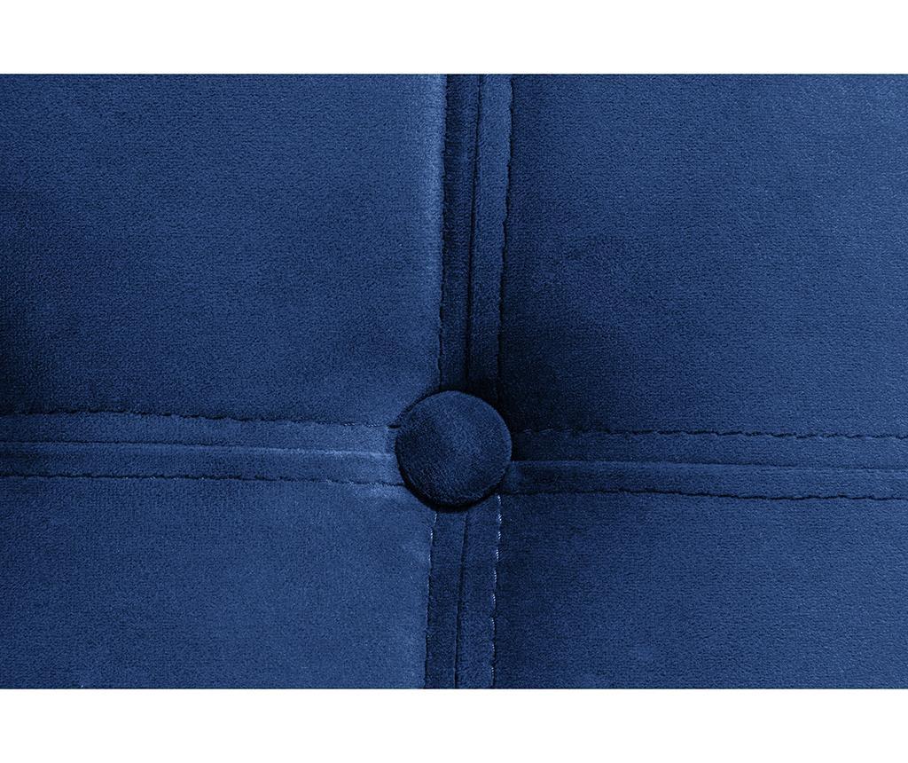 Taburet pentru picioare diYana Blue Maxi