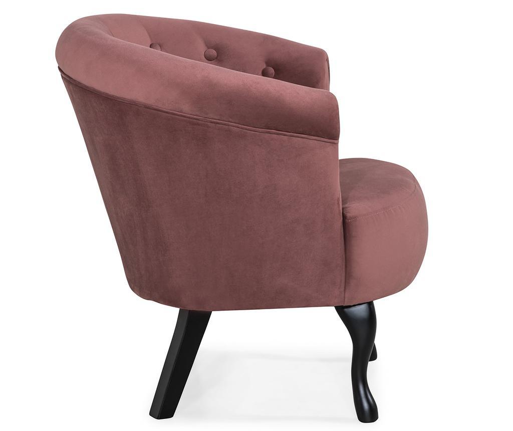Fotelj Madalina Rust Pink