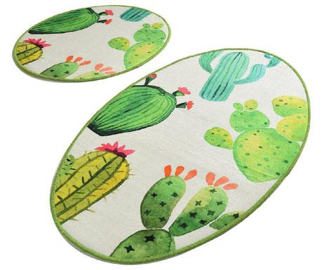Capses Cactus 2 db Fürdőszobai szőnyeg