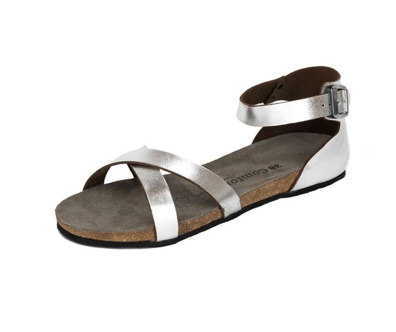 Sandale dama Milano Silver 37