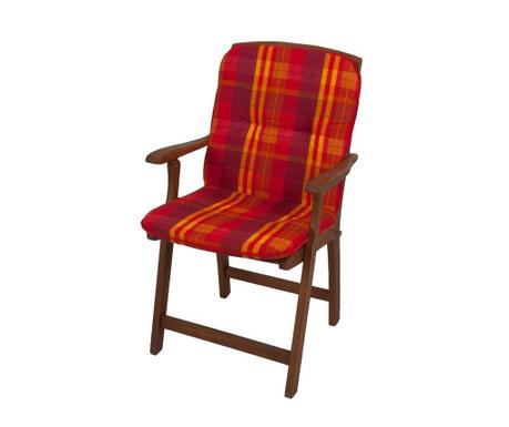 Μαξιλάρι καθίσματος και πλάτης Cardiff Red