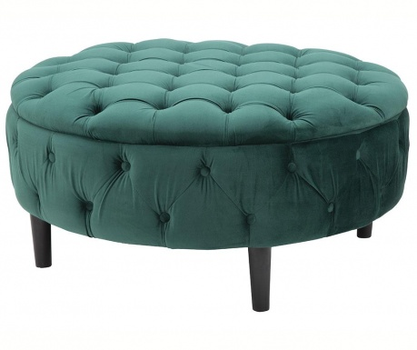 Taburetka Queen Wide Green
