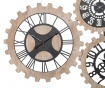Decoratiune de perete cu 3 ceasuri Gears