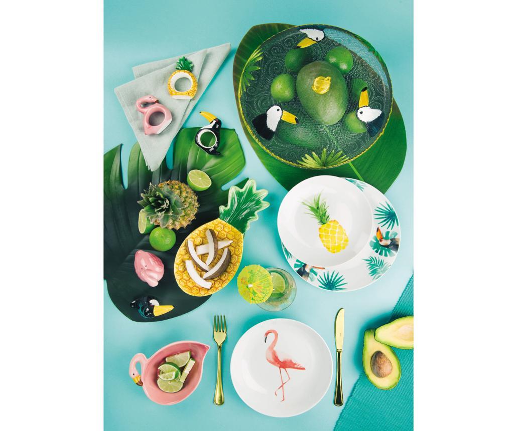18-dijelni servis za jelo Tropical Paradise