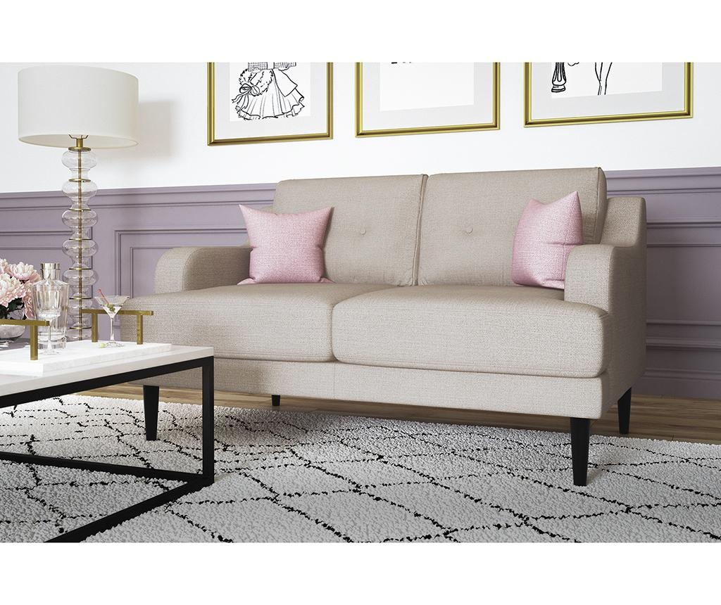 Gaby Cream Kétszemélyes kanapé