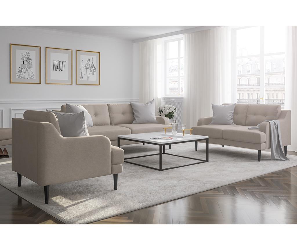 Gaby Cream Háromszemélyes kanapé