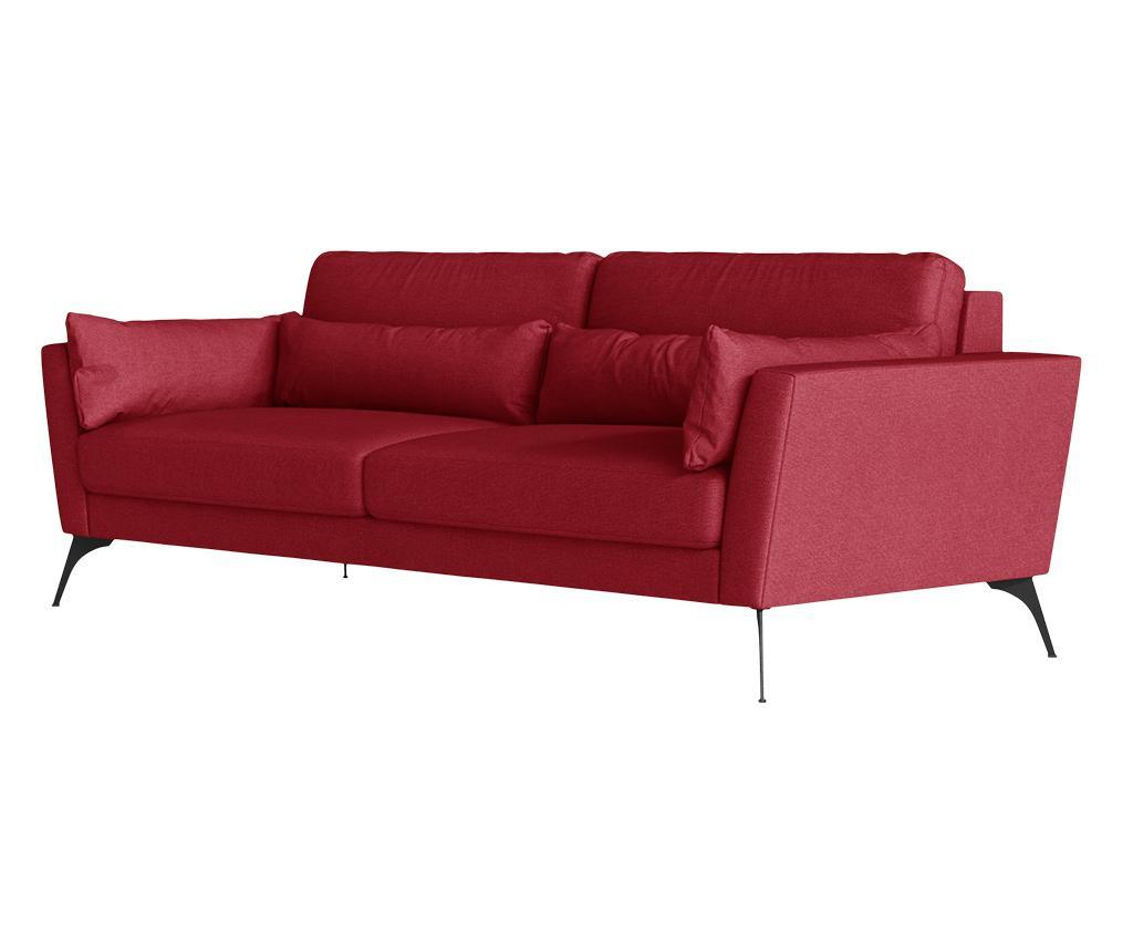 Susan Red Háromszemélyes kanapé