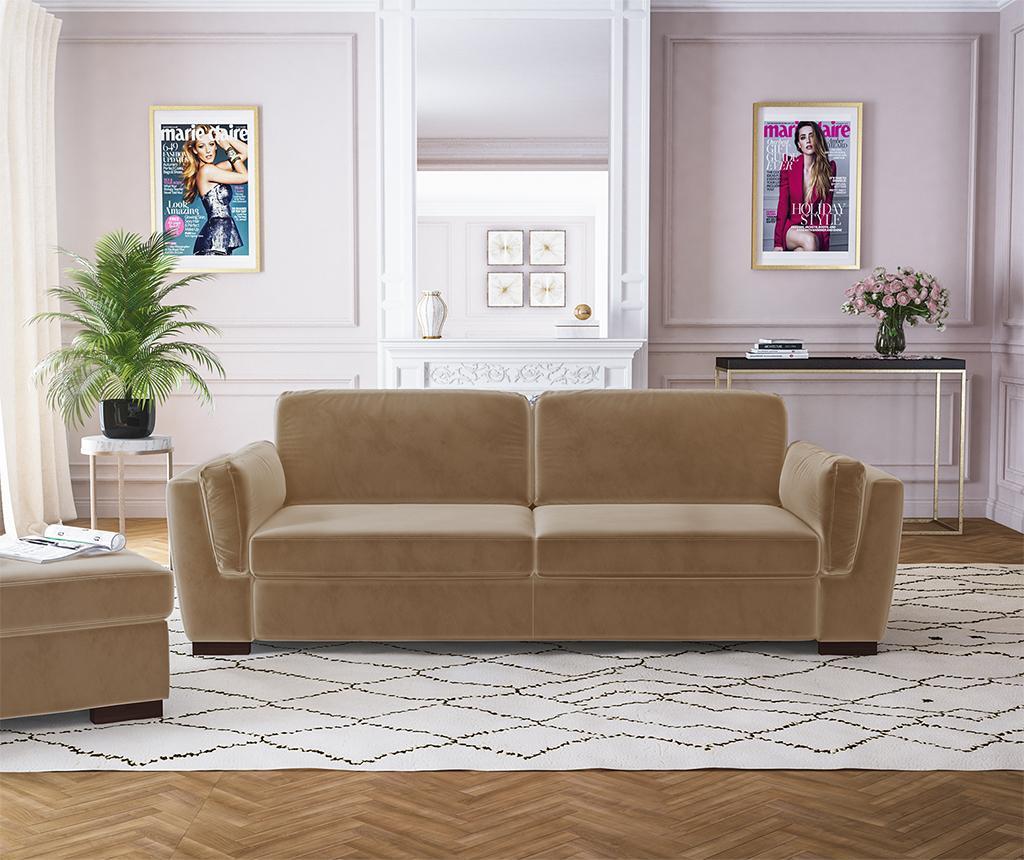 Bree Camel Háromszemélyes kanapé