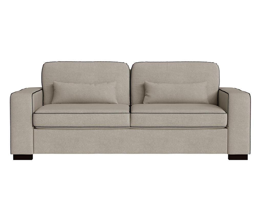 Katherine Taupe Háromszemélyes kanapé
