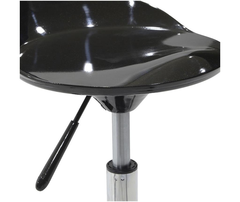 Barski stol Carla Black