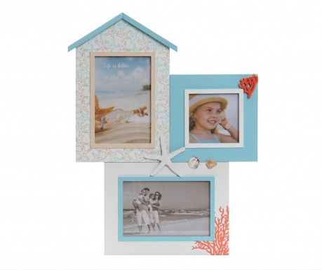Декорация с 3 рамки за снимка Leah