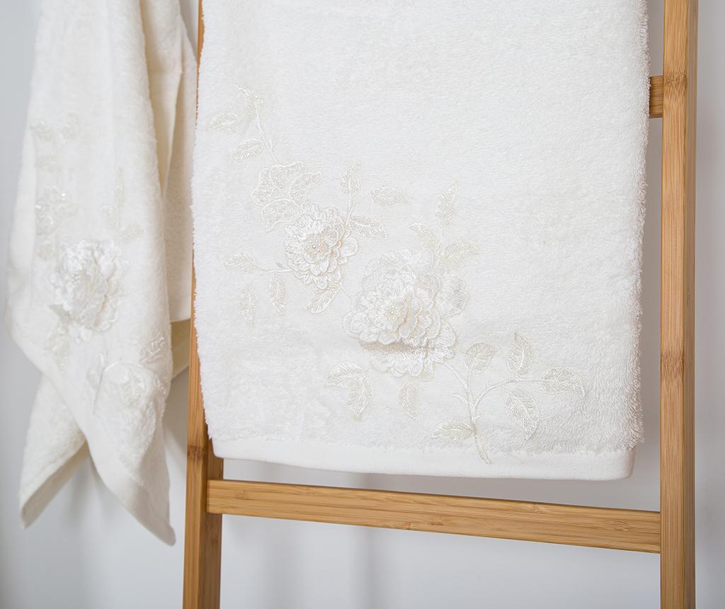 Mimosa Ecru 4 darabos Fürdőszobai textília szett