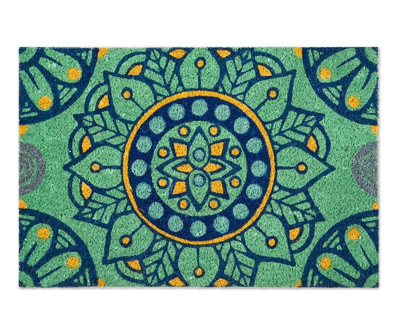 Covoras de intrare Mandala Mediterraneo 40x60 cm