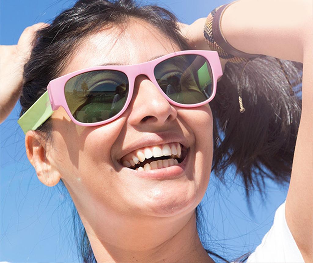 Ochelari de soare polarizati pliabili Sunfold Green