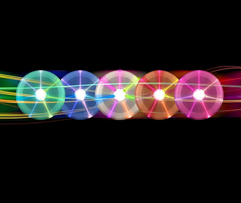 Igra frizbi s LED-om Multi Fun