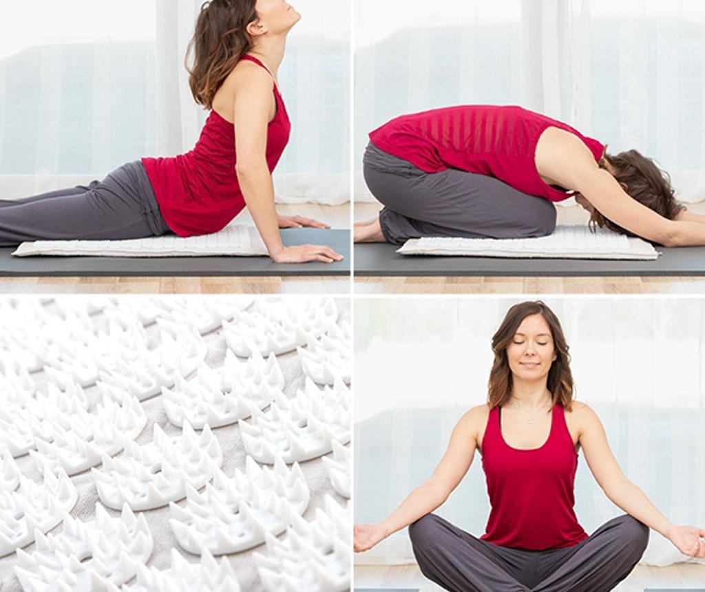 Kobereček pro akupunkturu a masáž Yoga 41x66 cm