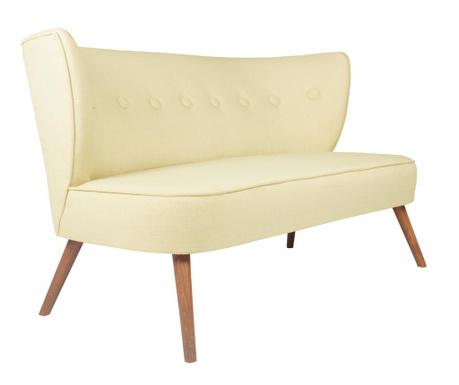 Josephine Cream Kétszemélyes kanapé