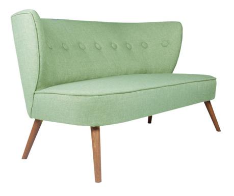 Josephine Petrol Green Kétszemélyes kanapé
