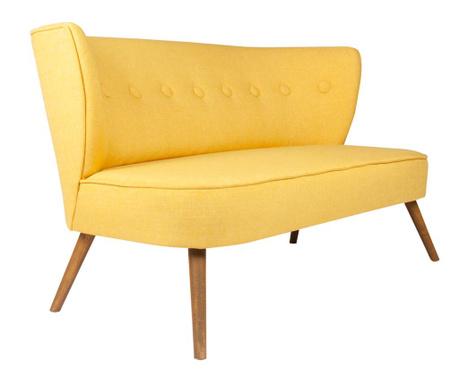 Josephine Yellow Kétszemélyes kanapé