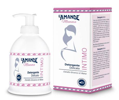 Sapun pentru zonele intime L'Amande Marseille Linea Mamma 250 ml
