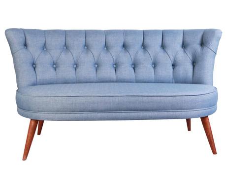 Sophia Indigo Blue Kétszemélyes kanapé