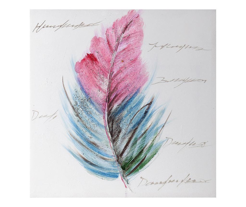 Slika Feather Colors 50x50 cm