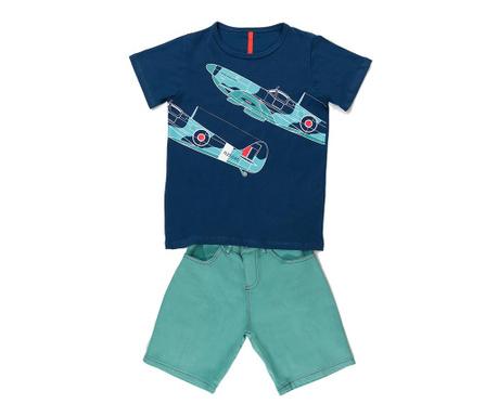 Sada tričko a nohavice pre deti Aircraft 10 r.