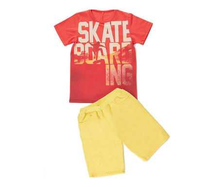 Set tricou si pantaloni pentru copii Skate 10 ani